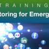 Updated Social Media in Emergency Webinar Schedule