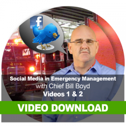 Social Media in Emergency Management: Video Download 1 & 2