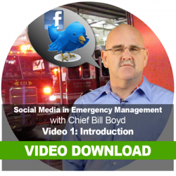 Social Media in Emergency Management: Video Download 1: Introduction