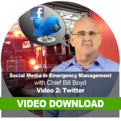 Social Media in Emergency Management: Video Download 2: Twitter